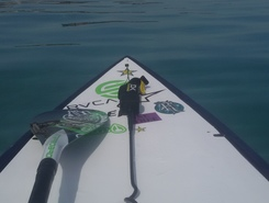 Polychrono paddle board spot in Greece