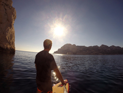 Sormiou sitio de stand up paddle / paddle surf en Francia