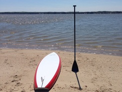 Rappahannock River paddle board spot in United States