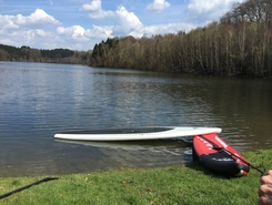 Wupper spot de stand up paddle en Allemagne