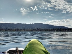 Schanzengraben paddle board spot in Switzerland