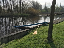 Westeinderdijksloot Aalsmeer paddle board spot in Netherlands