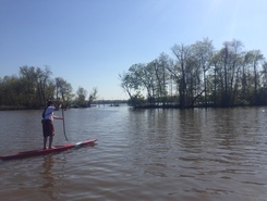 Deep Bottom Park spot de stand up paddle en États-Unis