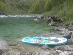 soča sitio de stand up paddle / paddle surf en Eslovenia