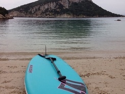 Cala Moresca sitio de stand up paddle / paddle surf en Italia