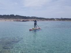 La Tonnara sitio de stand up paddle / paddle surf en Italia
