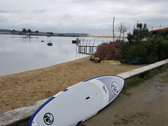 cap ferret sitio de stand up paddle / paddle surf en Francia
