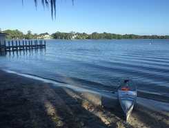 Dinky Dock,  Florida spot de stand up paddle en États-Unis