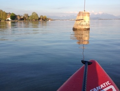 Villa Sunneschy paddle board spot in Switzerland