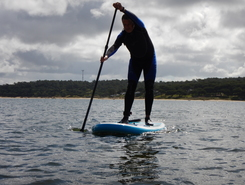 Lagoa de Albufeira sitio de stand up paddle / paddle surf en Portugal