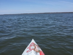 Pymatuning paddle board spot in United States