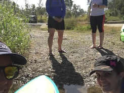 Pikes to dam paddle board spot in Australia