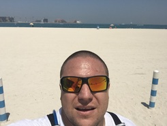 From Al Sufouh Beach to Burj al Arab sitio de stand up paddle / paddle surf en Emiratos Árabes Unidos