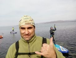 yakor camp spot de stand up paddle en Russie