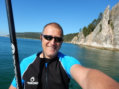 Albarquel paddle board spot in Portugal