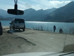 potrerillos paddle board spot in Argentina