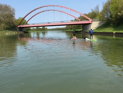 Mittellandkanal  paddle board spot in Germany