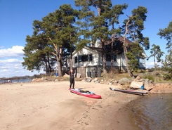 Pentala paddle board spot in Finland