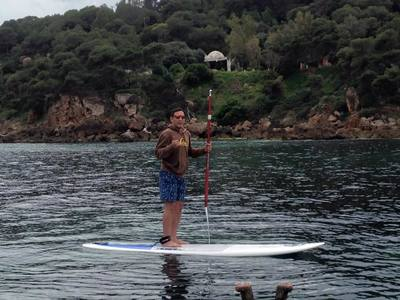 Corne D'or Tipasa paddle board spot in Algeria