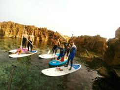 Corne D'or Tipasa sitio de stand up paddle / paddle surf en Argelia