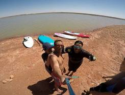 Barage Djorf torba  sitio de stand up paddle / paddle surf en Argelia