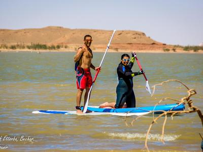 Barage Djorf torba  paddle board spot in Algeria