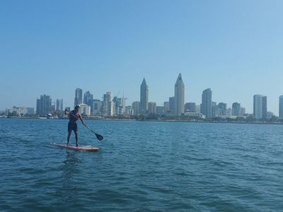 Glorietta bay paddle board spot in United States