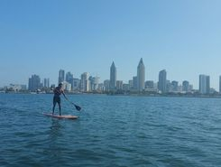 Glorietta bay sitio de stand up paddle / paddle surf en Estados Unidos