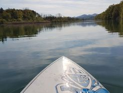aare rupperswil auenstein paddle board spot in Switzerland
