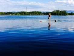 Divonne les Bains paddle board spot in France