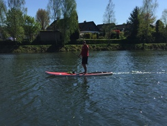 Wupper sitio de stand up paddle / paddle surf en Alemania
