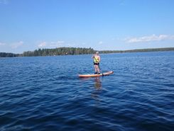 langelmavesi  paddle board spot in Finland