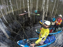 Пра sitio de stand up paddle / paddle surf en Rusia