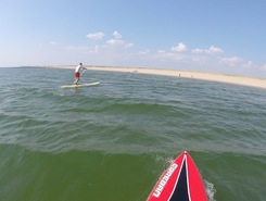 Blavand spot de stand up paddle en Danemark