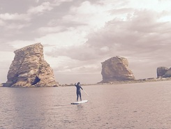 Hendaye spot de stand up paddle en France