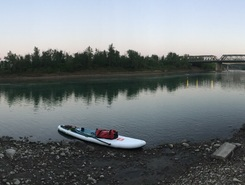 North Saskatchewan River  sitio de stand up paddle / paddle surf en Canadá
