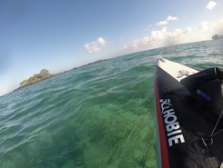 Coin de Mire sitio de stand up paddle / paddle surf en Mauricio