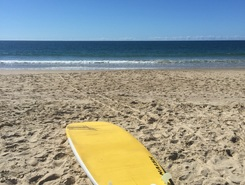 The wall spot de stand up paddle en Australie