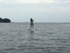 1st biking with Elana sitio de stand up paddle / paddle surf en Estados Unidos