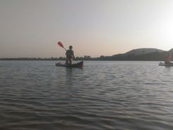 Lake Ponninyin Selvan paddle board spot in India