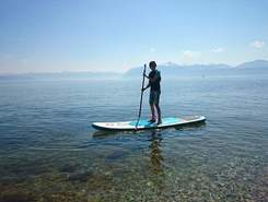 Plage de la place d'Armes paddle board spot in Switzerland