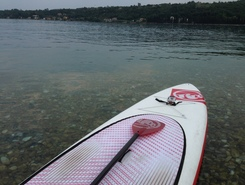 Golfo di salo' paddle board spot in Italy