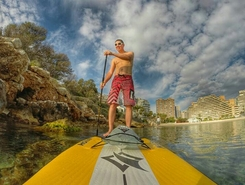 Playa La Fossa paddle board spot in Spain
