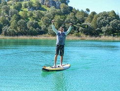Lagunas de Ruidera paddle board spot in Spain