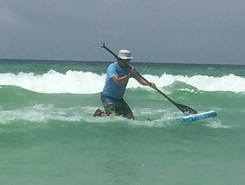 Miramar Beach, Florida sitio de stand up paddle / paddle surf en Estados Unidos