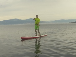 Porticcio sitio de stand up paddle / paddle surf en Francia