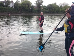 Thames sitio de stand up paddle / paddle surf en Reino Unido
