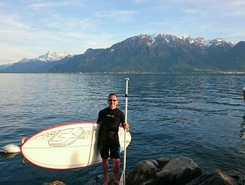 Fourchette de Vevey spot de stand up paddle en Suisse