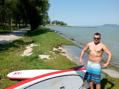 Balatonboglár spot de stand up paddle en Hongrie