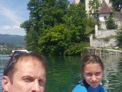 Lake Bled spot de stand up paddle en Slovénie
